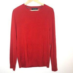 Banana Republic Red Merino Wool sweater